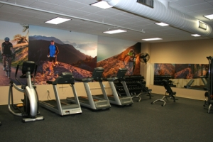 Pacific Cycle Fitness Room