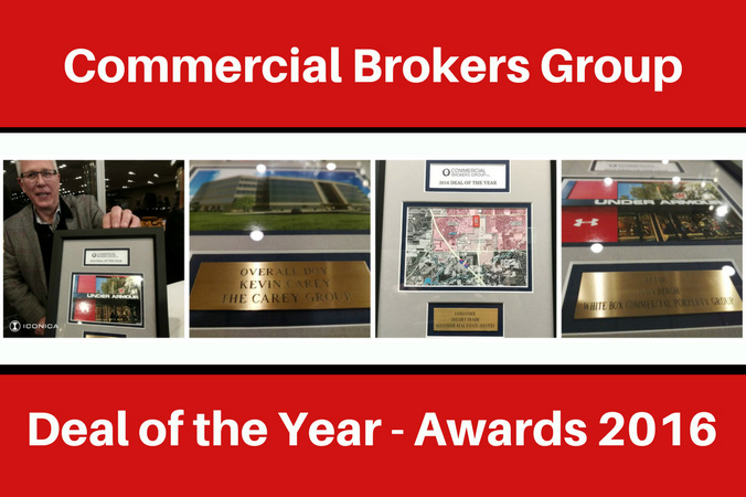 Commercial Brokers Group Deal Of The Year Awards 2016