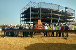 Topping Off Celebration At Sauk Trails Plaza II