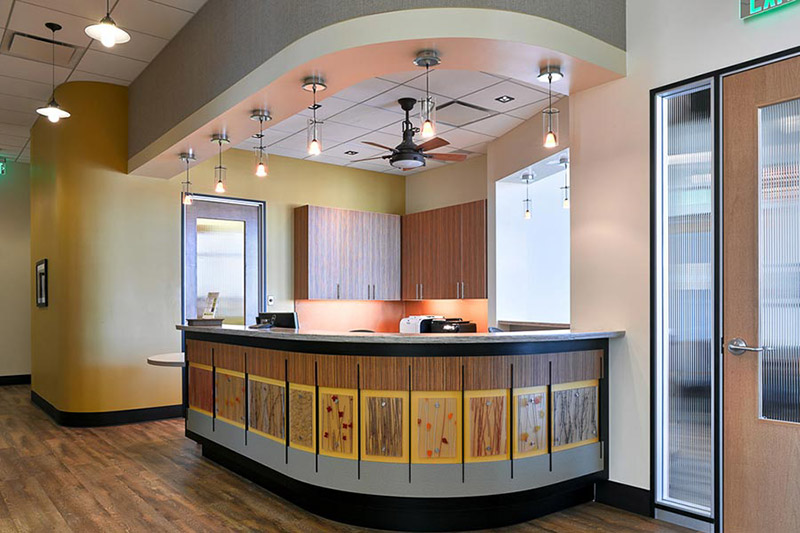Artisan Dental Reception Desk