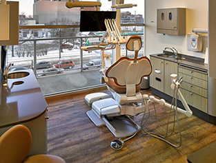 Artisan Dental exam room