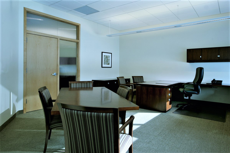 Associated Bank private office room