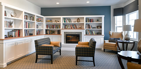 Aster Assisted Living library