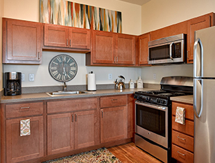 Aster Assisted Living kitchen