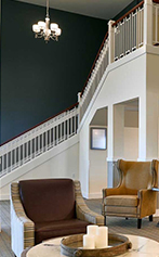Aster Assisted Living main stair case