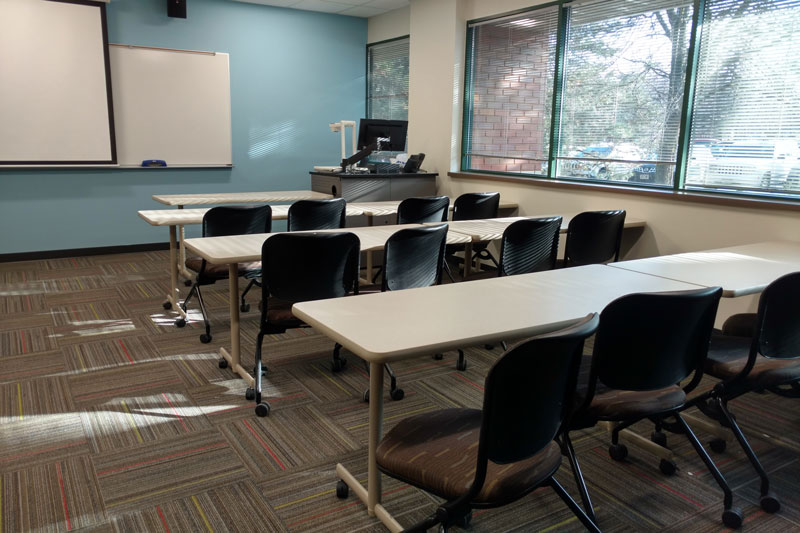 Madison College West Campus classroom