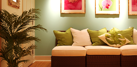 Keylime Cove couch in room