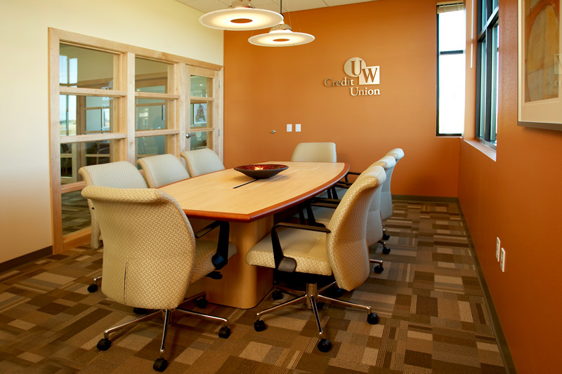 Middleton Hills tenant UW Credit Union conference room