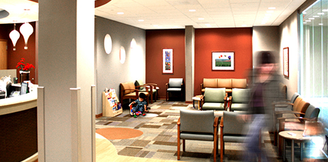 Meriter Pediatric Clinic waiting room