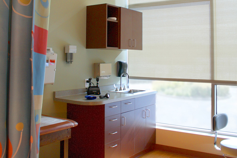 Meriter Pediatric Clinic Exam Room