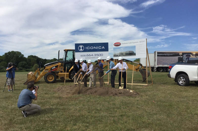 Steinhafels Warehouse Groundbreaking