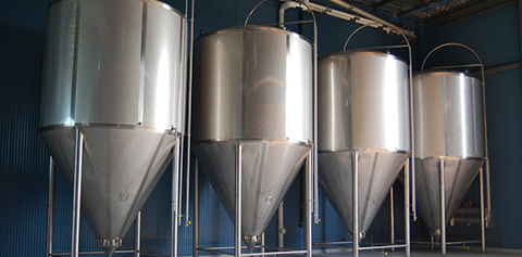 Wisconsin Brewing Company brewing equipment