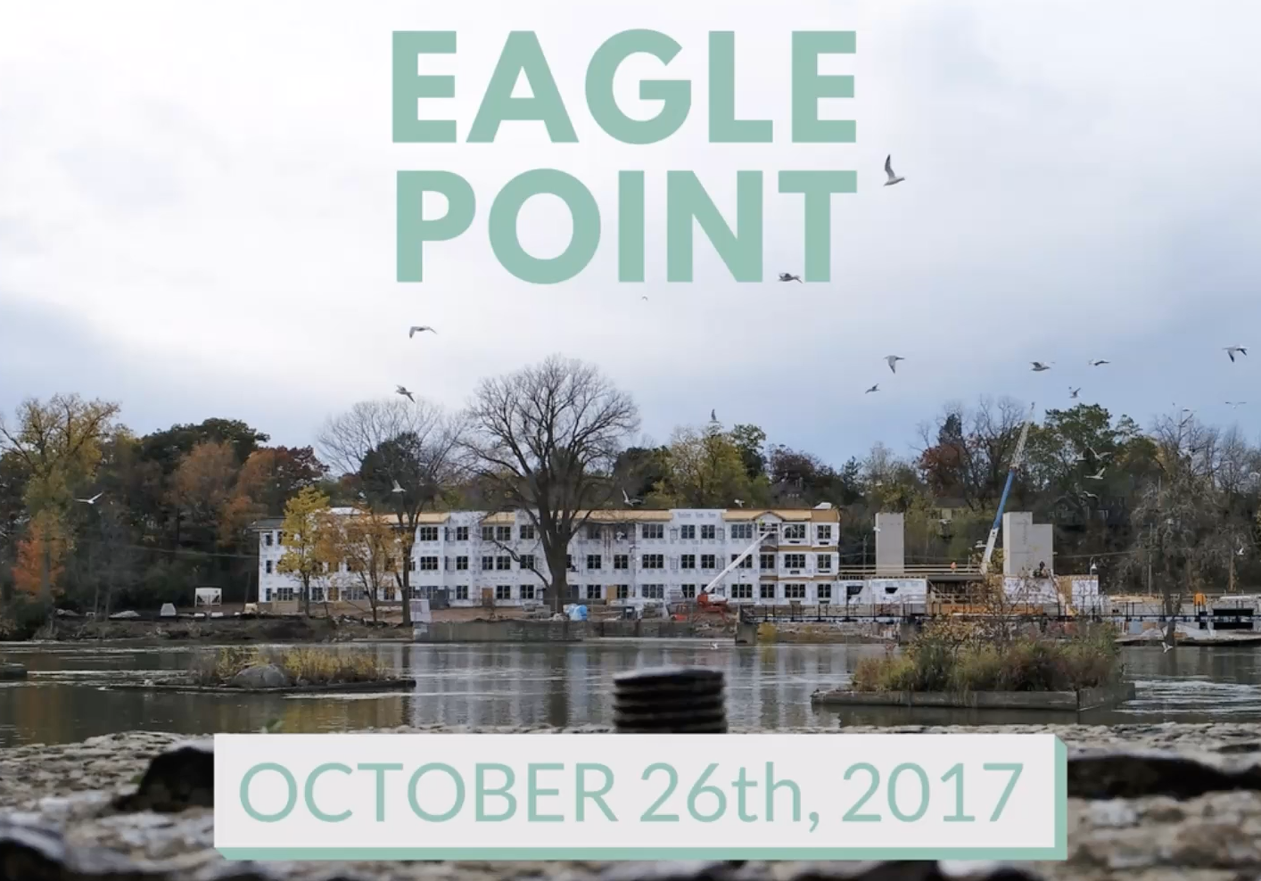 Eagle Point Senior Living – Construction Drone Video
