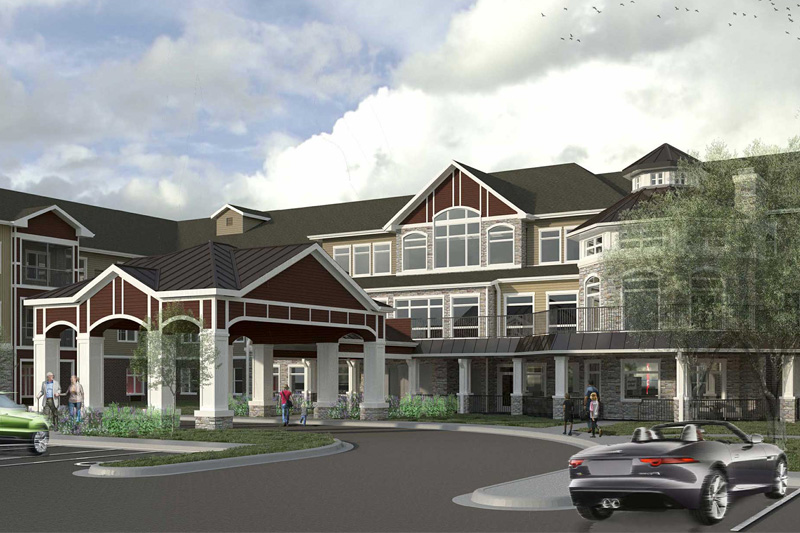 Iconica New Perspective Senior Living Mockup