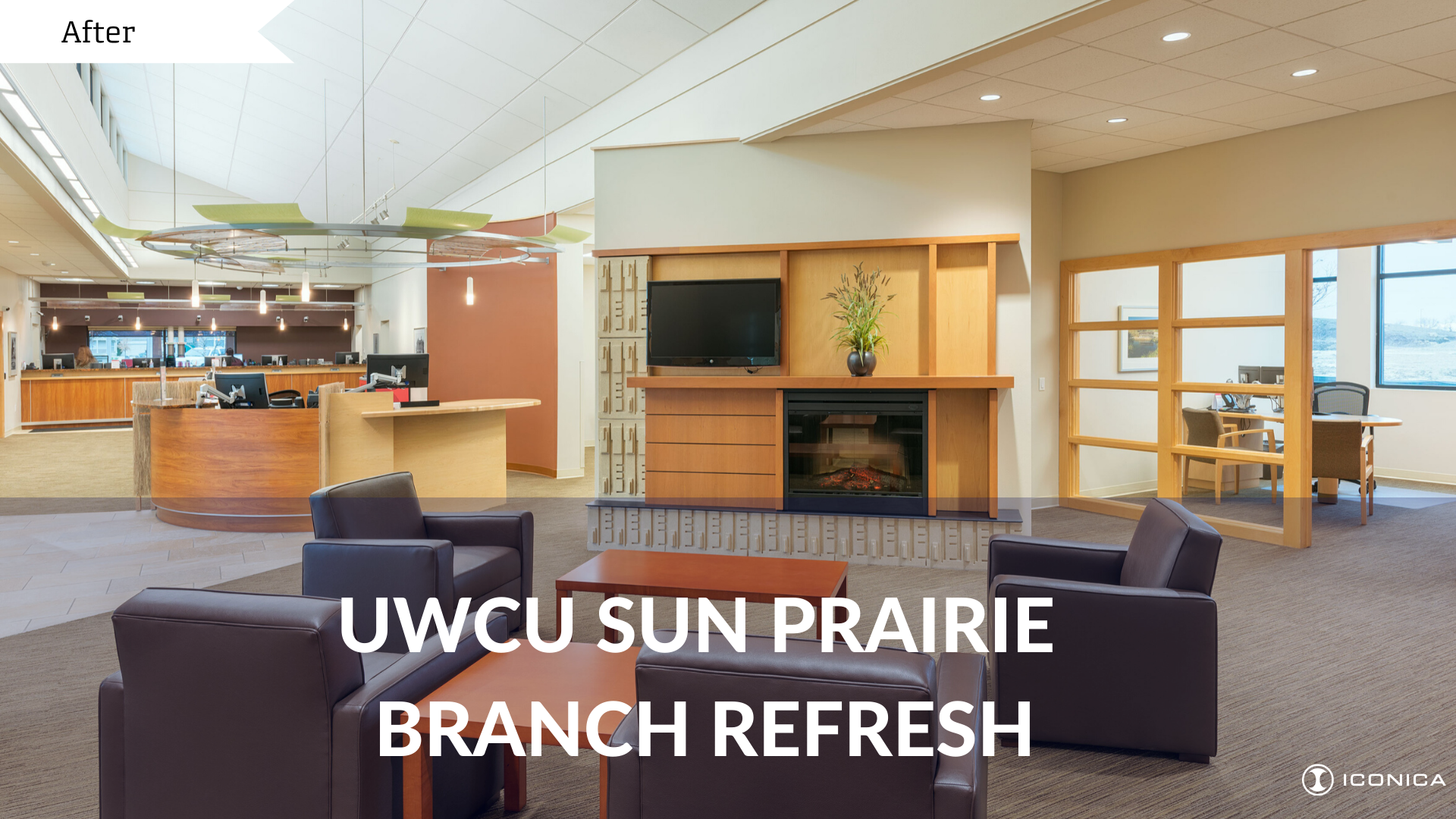 UWCU Sun Prairie Before And After Photos